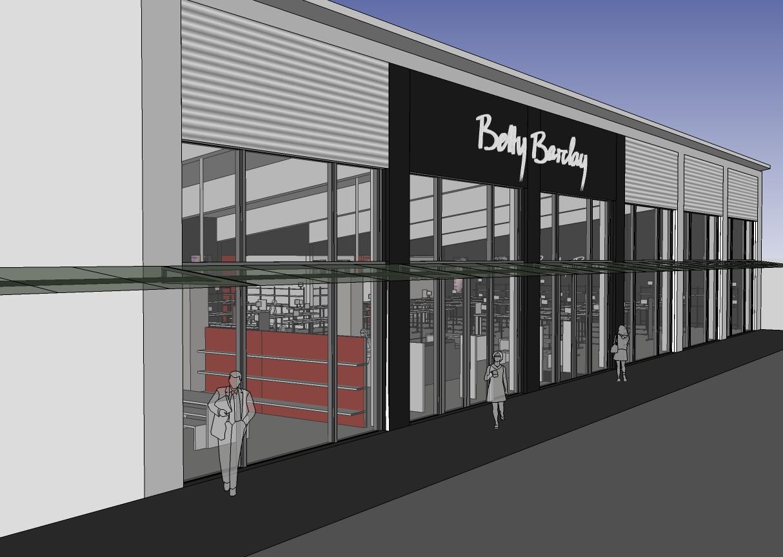 partnerschaft mbb betty barclay outlet store bremen brinkum. Black Bedroom Furniture Sets. Home Design Ideas